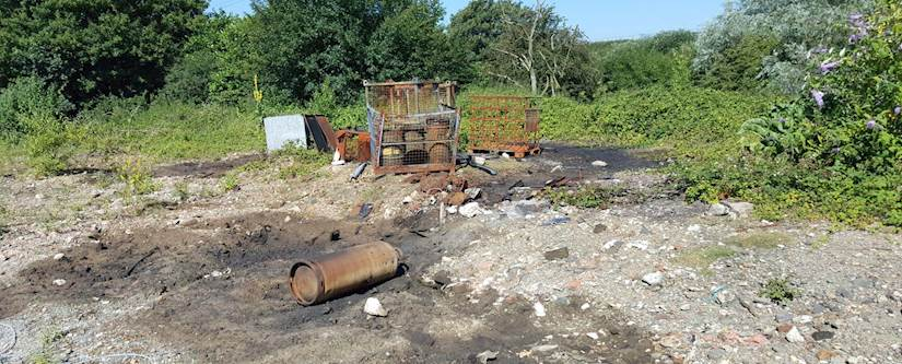 Contaminated Ground Brownfield Risk
